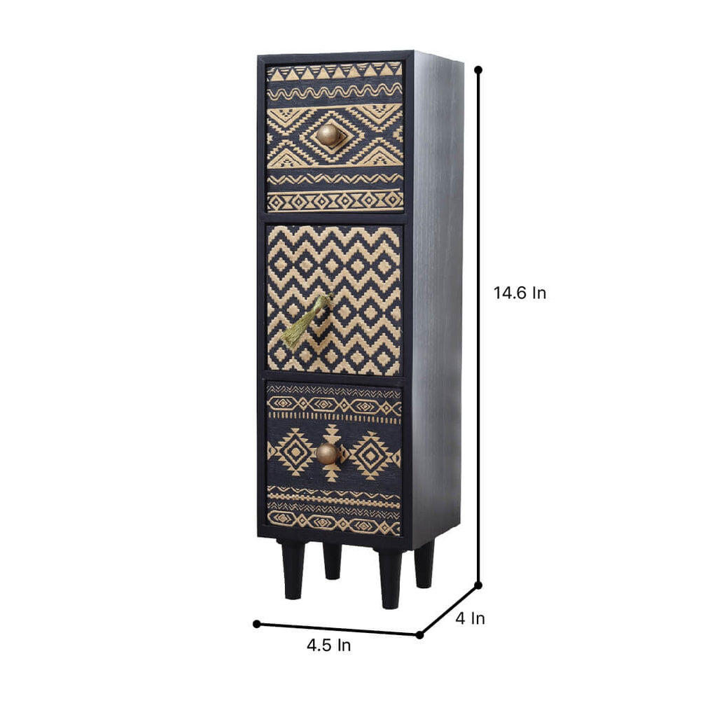 Tribal Vertical Drawer Unit