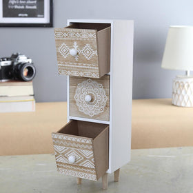 The Boudoir Vertical Drawer Unit (for desk)