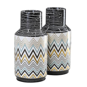 Set of Starry Vases