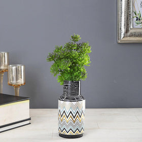 Eclectic Starry Vase