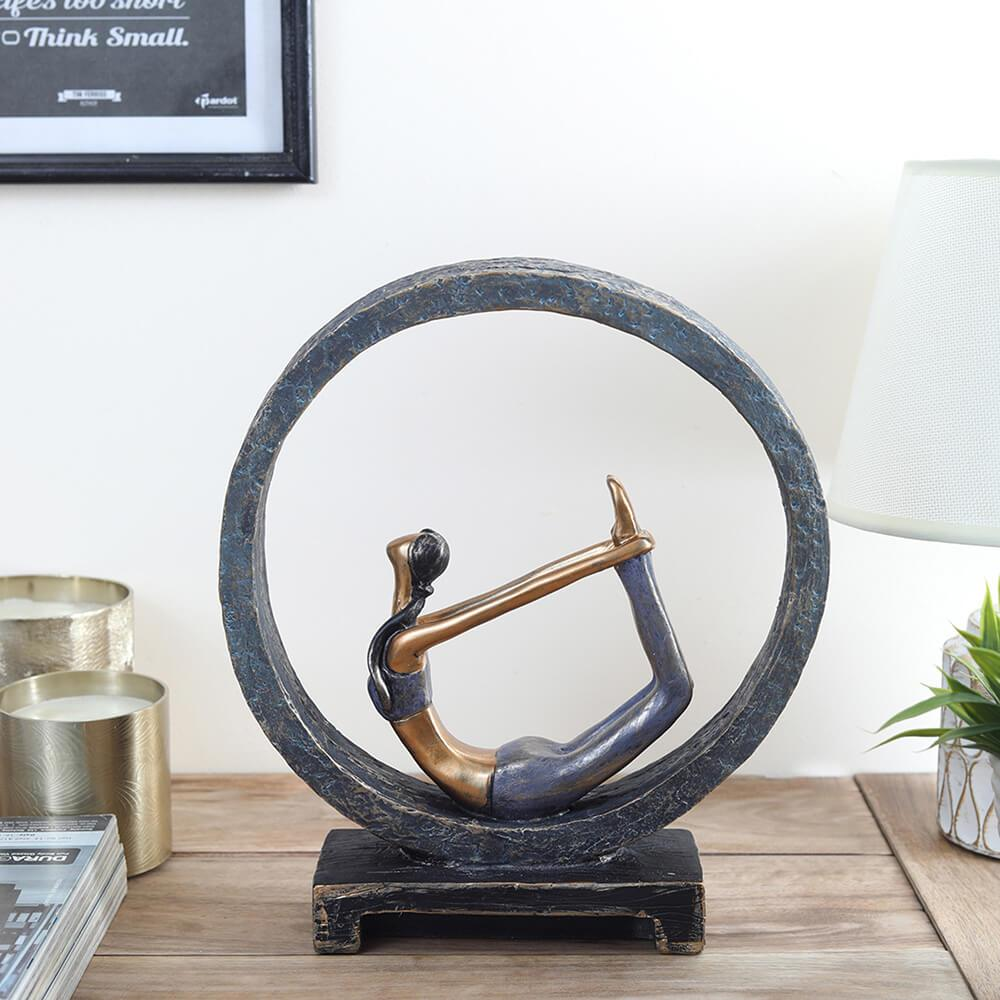 'Bow' Yoga Figurine