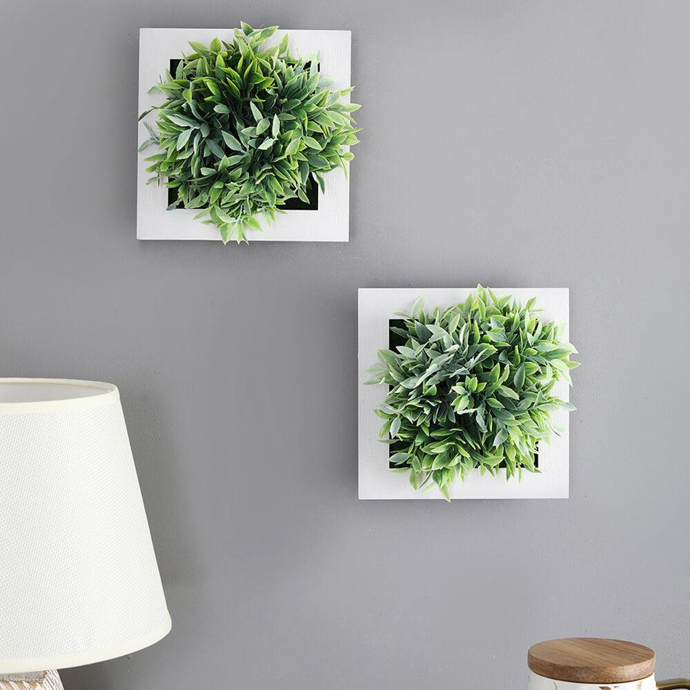 Green Ferns Wall Planters
