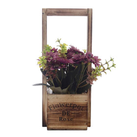 Rustic Desk Floral Arrangement