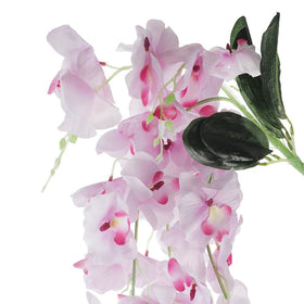 Flowing Artificial Orchid Flower Bunch, Pink