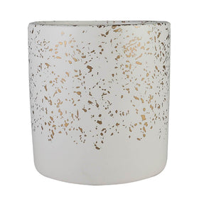 Goldburst White Planter