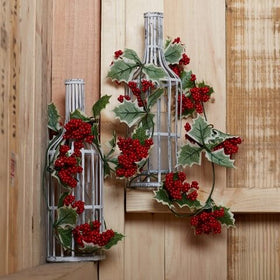 Set of 2 Mistletoe Decorative Vine