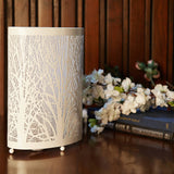 Enchanted Oval Forest Lamp (Short, White)