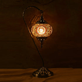 Berkin Turkish Mosaic Lamp L- Coffee