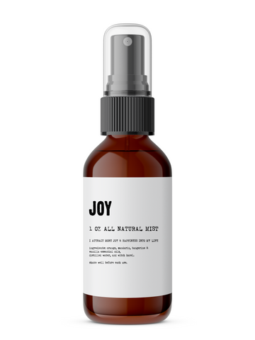 Joy - Meditation/Body Mist - Made With All Natural Ingredients