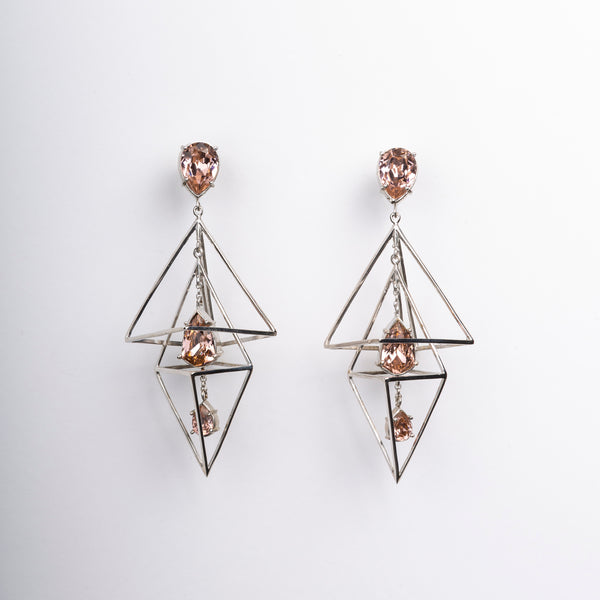 Aujourd'hui FP Pyramide Earrings 1