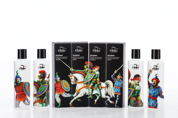 Ciatu Palermo Natural Shower Packaging Composition