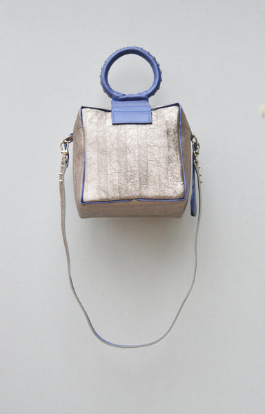 Caterinaeffe Cubic Bag Silver 3