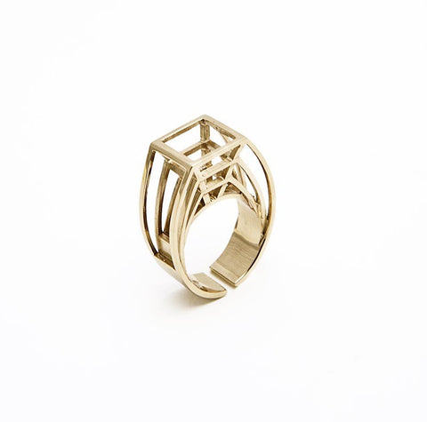CoRo Jewels Prospettiva ring 1