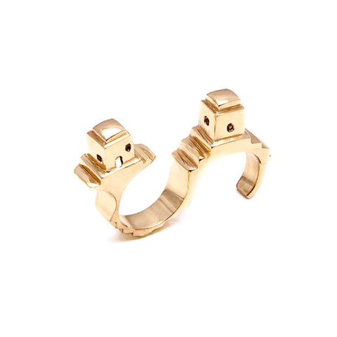 Co.Ro. Jewels Fornillo Double Ring 1