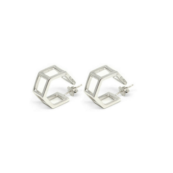 Co.Ro. Jewels Doppi Esagoni Earrings 1