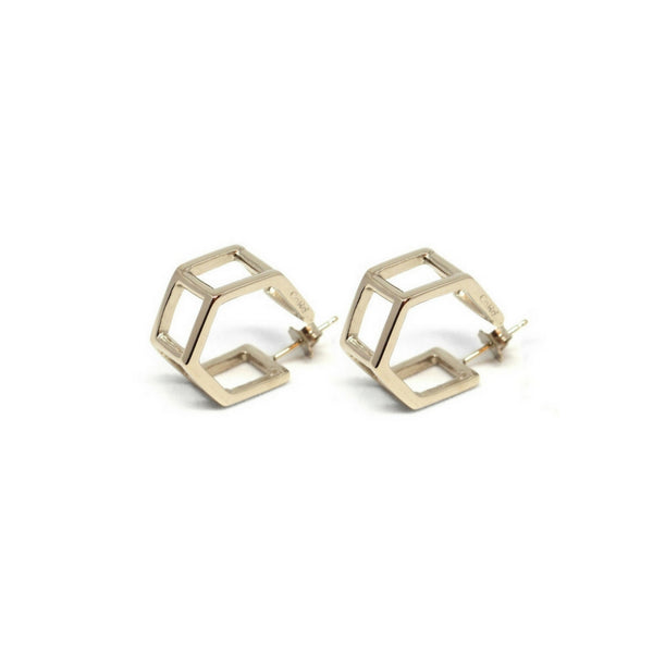 Co.Ro. Jewels Doppi Esagoni Earrings 2