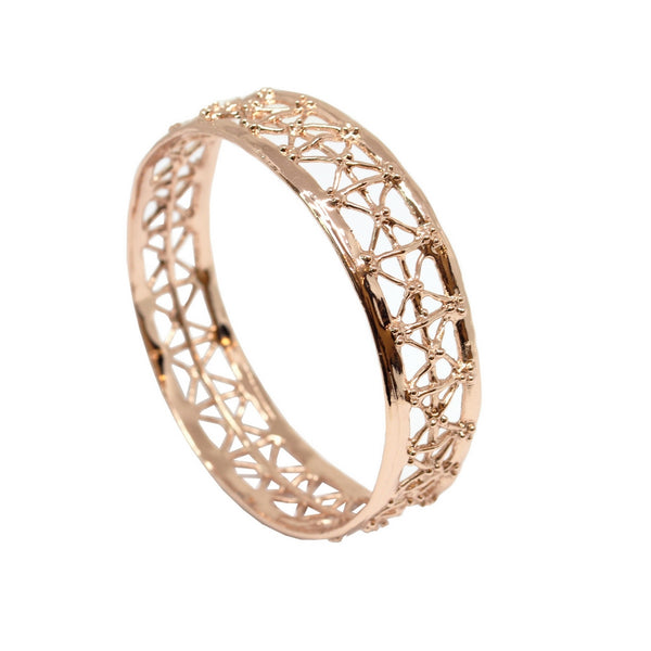 Co.Ro. Jewels Gasometro Bangle Pink Gold 1