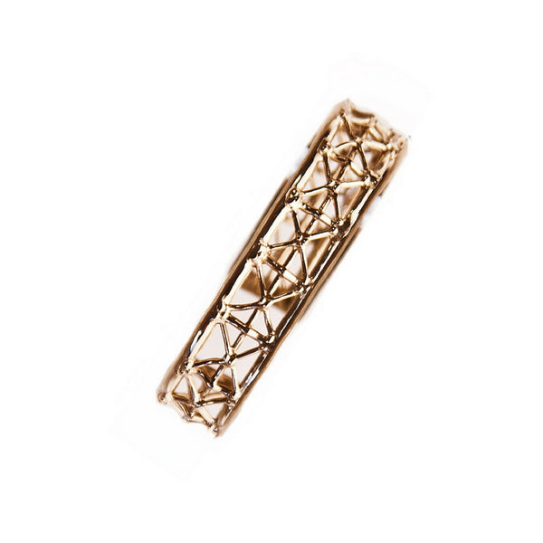 Co.Ro. Jewels Gasometro Bangle Pink Gold 2