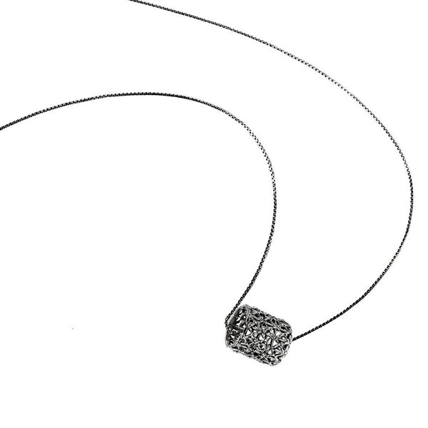 Co.Ro. Jewels Gasometro Pendant Ruthenium 1