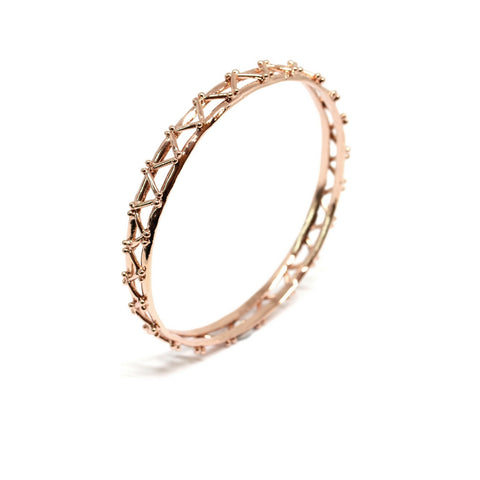 Co.Ro. Jewels Little Beam Bangle Gold 1