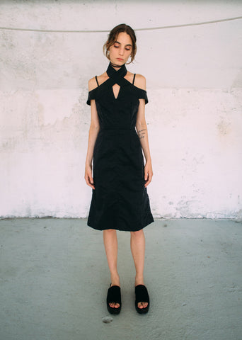 Cristina Ruggiero Black Dress 1