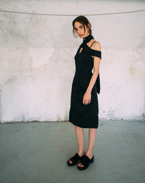 Cristina Ruggiero Black Dress 3