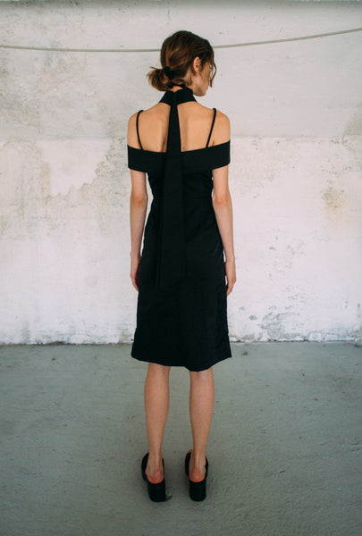 Cristina Ruggiero Black Dress 2