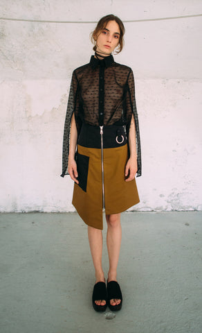 Cristina Ruggiero Flared Skirt 1