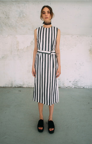 Cristina Ruggiero Striped Tube Dress 1