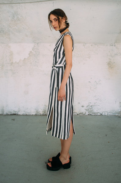 Cristina Ruggiero Striped Tube Dress 2