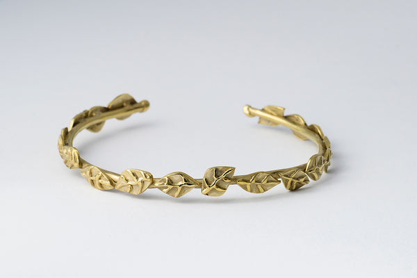 Delve Laurel Bracelet Gold 1