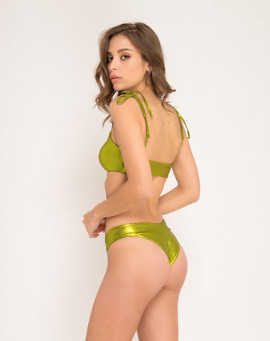 Duepezzi Beachwear Lucy Green Top 1