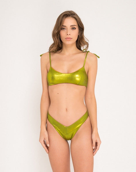 Duepezzi Beachwear Lucy Green Top 2