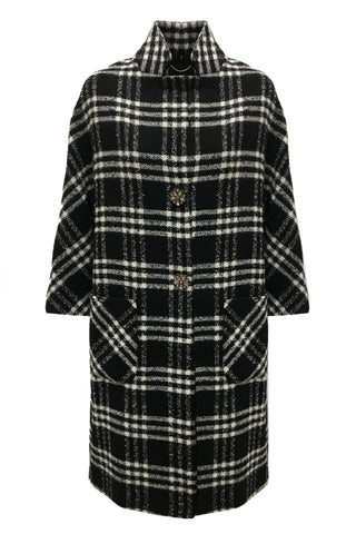 Eleonora Azzolina Limited Edition Tartan Coat 1