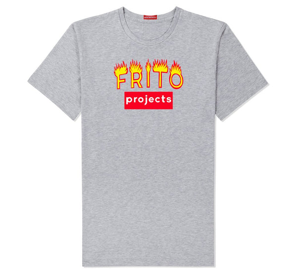 Frito Projects Logo Grey T-Shirt 1