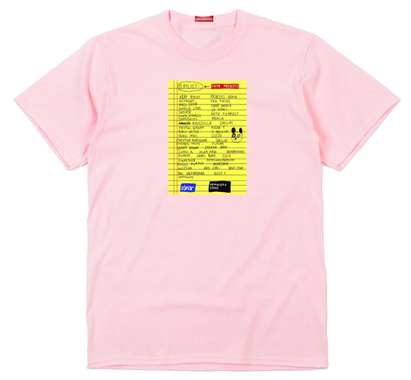Frito Projects Sonar & Primavera Sound Pink T-Shirt 1