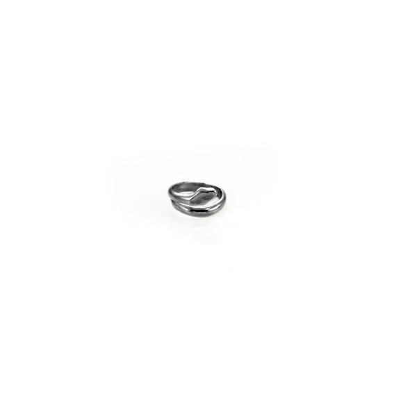 Giulia Barela Coil Small Ring Silver 925 Black Rhodium 1