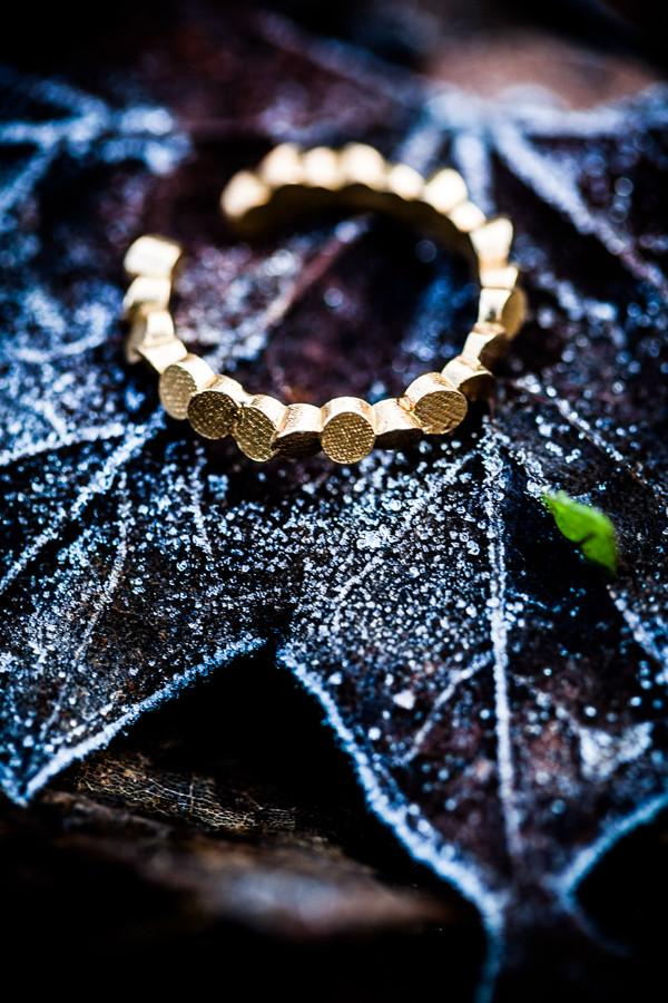 Lumitoro Tubii Raw Bronze Ring I 1