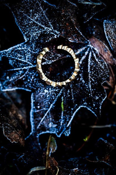 Lumitoro Tubii Raw Bronze Ring I 2