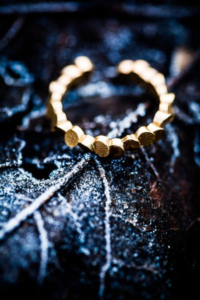 Lumitoro Tubii Raw Bronze Ring I 3