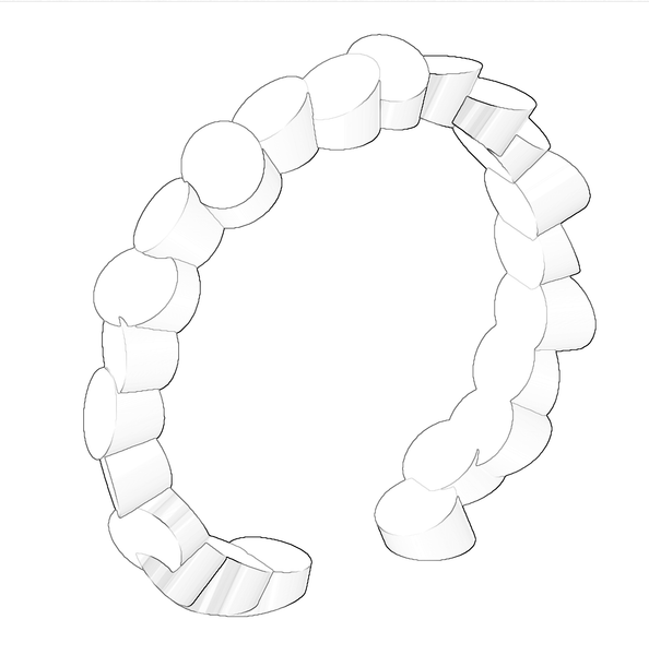 Lumitoro Tubii Raw Bronze Ring I 4