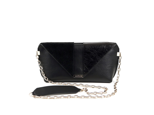MuSté Studios Daphne Mini Shoulder Bag Total Black 1