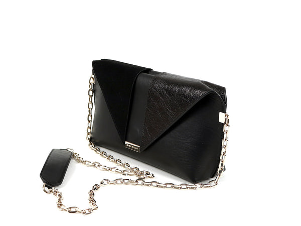 MuSté Studios Daphne Mini Shoulder Bag Total Black 2