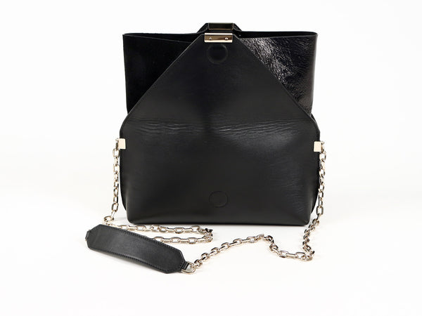 MuSté Studios Daphne Mini Shoulder Bag Total Black 3
