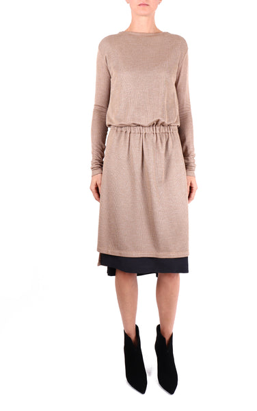 MuSté Studios Jersey Silk Dress 1