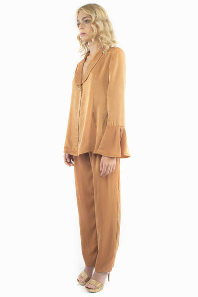 The B. by Federico Barrazzo Blazer with Lapels and Long Trousers 2