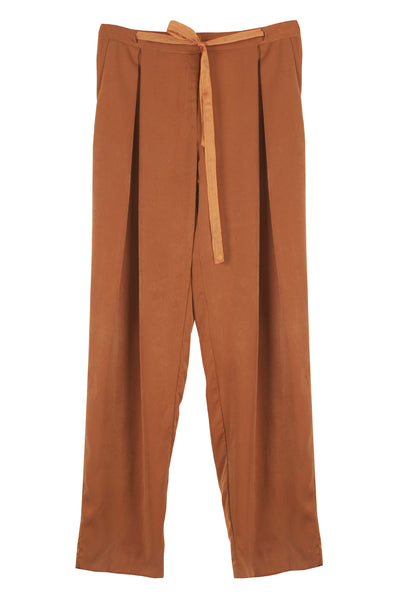 The B. by Federico Barrazzo Long Trousers with Fabric Strap 1