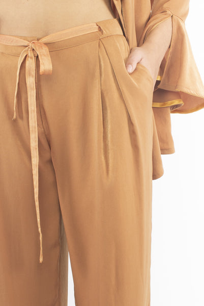 The B. by Federico Barrazzo Long Trousers with Fabric Strap 2