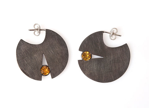Valentina Falchi My Dot Twin - Quartz Earrings