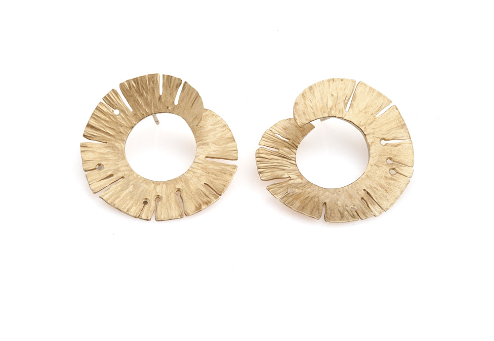 Valentina Falchi Nymph Round Earrings 1